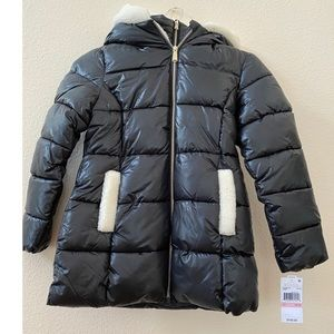 Michael Kors Faux Fur Puffer Coat
